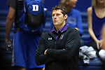 DURHAM, NC - SEPTEMBER 01: Northwestern Shane Davis. The Northwestern University Wildcats played the University of South Carolina Gamecocks on September 1, 2017 at Cameron Indoor Stadium in Durham, NC in a Division I women's college volleyball match. Northwestern won 3-1 (13-25, 25-18, 25-18, 25-19).