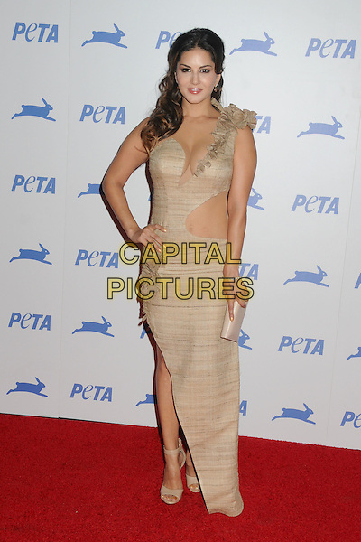 30 September 2015 - Hollywood, California - Sunny Leone. PETA 35th Anniversary Gala held at the Hollywood Palladium. <br /> CAP/ADM/BP<br /> &copy;BP/ADM/Capital Pictures