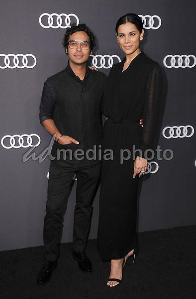 13 September  2017 - Hollywood, California - Kunal Nayyar, Neha Kupar. Audi Celebrates the 69th Emmys held at The Highlight Room in Hollywood. Photo Credit: Birdie Thompson/AdMedia