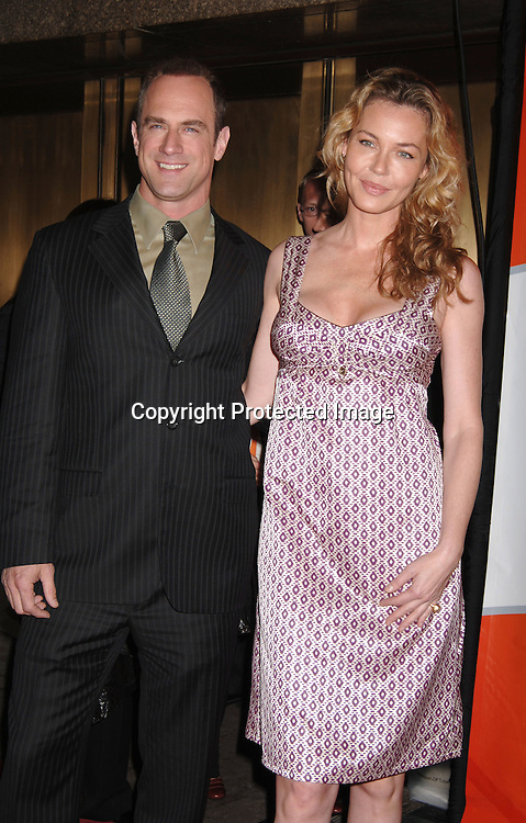 Christopher Meloni and Connie Nielsen ..arriving for The NBC Upfront announcement of their Fall 2006-2007 Schedule on May 15, 2006 at Radio City Music ..Hall...Robin Platzer, Twin Images