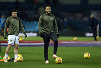 Leeds United's Pablo Hernandez (left) and Lewis Baker during the pre-match warm-up <br /> <br /> Photographer Rich Linley/CameraSport<br /> <br /> The EFL Sky Bet Championship - Leeds United v Reading - Tuesday 27th November 2018 - Elland Road - Leeds<br /> <br /> World Copyright &copy; 2018 CameraSport. All rights reserved. 43 Linden Ave. Countesthorpe. Leicester. England. LE8 5PG - Tel: +44 (0) 116 277 4147 - admin@camerasport.com - www.camerasport.com