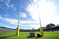 A general view of the Recreation Ground pitch. Aviva Premiership match, between Bath Rugby and Worcester Warriors on September 17, 2016 at the Recreation Ground in Bath, England. Photo by: Patrick Khachfe / Onside Images