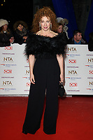 LONDON, UK. January 22, 2019: Alex Kingston at the National TV Awards 2019 at the O2 Arena, London.<br /> Picture: Steve Vas/Featureflash