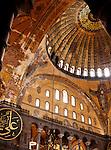 Hagia Sophia Dome 03 - The main dome of  Hagia Sophia (Aya Sofya) basilica, Sultanahmet, Istanbul, Turkey