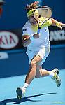 Ferrer wins at Australian Open in Melbourne Australia on 20th January 2013