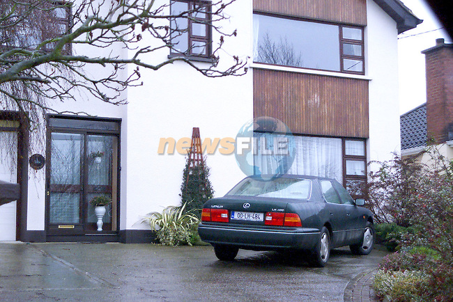 The 2000 reg Lexus, which the Corrs bought thier father Gerry, parked outside thier family home in Dundalk, Co. Louth..Picture: Paul Mohan/Newsfile