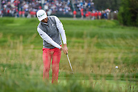 HaoTong Li (CHN) chips on to 17 during round 4 of the 2019 US Open, Pebble Beach Golf Links, Monterrey, California, USA. 6/16/2019.<br /> Picture: Golffile | Ken Murray<br /> <br /> All photo usage must carry mandatory copyright credit (© Golffile | Ken Murray)