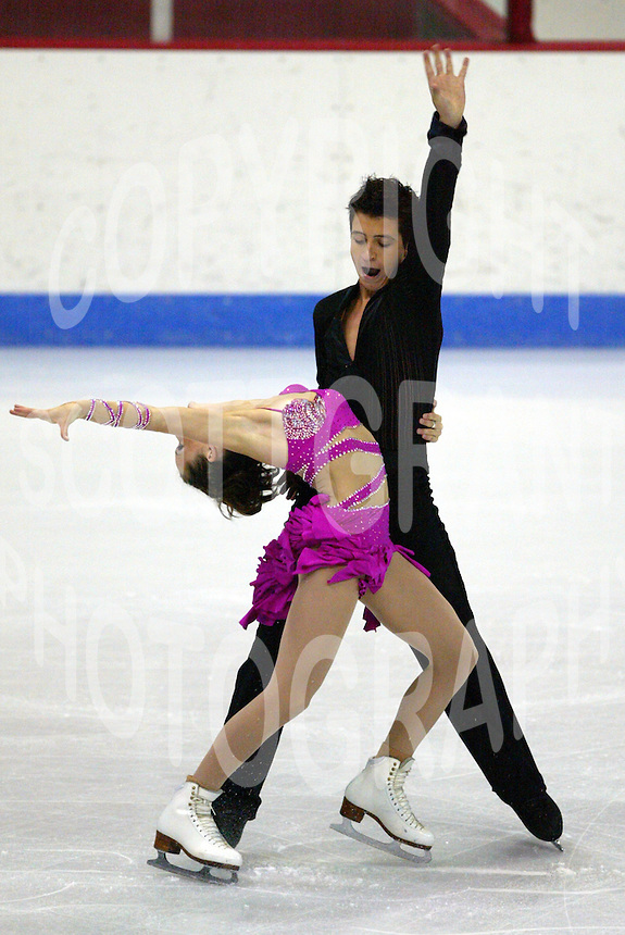 Tessa Virtue and Scott Moir Canada 2005 Jr Grand Prix . Photo F. Scott Grant