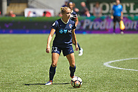 Portland, OR - Saturday July 15, 2017: Abby Dahlkemper during a regular season National Women's Soccer League (NWSL) match between the Portland Thorns FC and the North Carolina Courage at Providence Park.