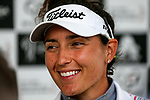 Emily Tubert. McKayson NZ Women's Golf Open, Round Two, Windross Farm Golf Course, Manukau, Auckland, New Zealand, Friday 29 September 2017.  Photo: Simon Watts/www.bwmedia.co.nz