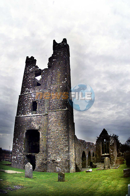 St. Mary's Abbey Duleek..Picture: Paul Mohan/Newsfile