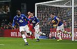 Everton's Romelu Lukaku celebrates scoring his second goal during the Premier League match at Vicarage Road Stadium, London. Picture date December 10th, 2016 Pic David Klein/Sportimage