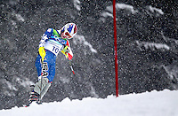 USA's Lindsey Vonn hangs her head after missing a gate in the ladies' slalom at the XXI Olympic Winter Games Friday, February 26, 2010 in Whistler, British Columbia.  She finished her Olympics on a down note after winning gold and bonze in two of her earlier events.