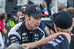 Team Penske driver Simon Pagenaud (22) of France in action before the DXC Technology 600 race at Texas Motor Speedway in Fort Worth,Texas.