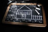 Mercato immobiliare. Real estate market..ICI, tasse sulla casa e su beni immobili. ICI, taxes on housing and real estate...