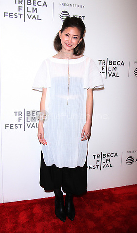 NEW YORK, NY April 21, 2017 Kimiko Glenn  attend 2017 Tribeca Film Festival premiere of The Handmaid's Tale  at BMCC Tribeca PAC in New York April 21,  2017. Credit:RW/MediaPunch