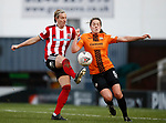 Leandra Little of Sheffield Utd during the The FA Women's Championship match at the Proact Stadium, Chesterfield. Picture date: 8th December 2019. Picture credit should read: Simon Bellis/Sportimage
