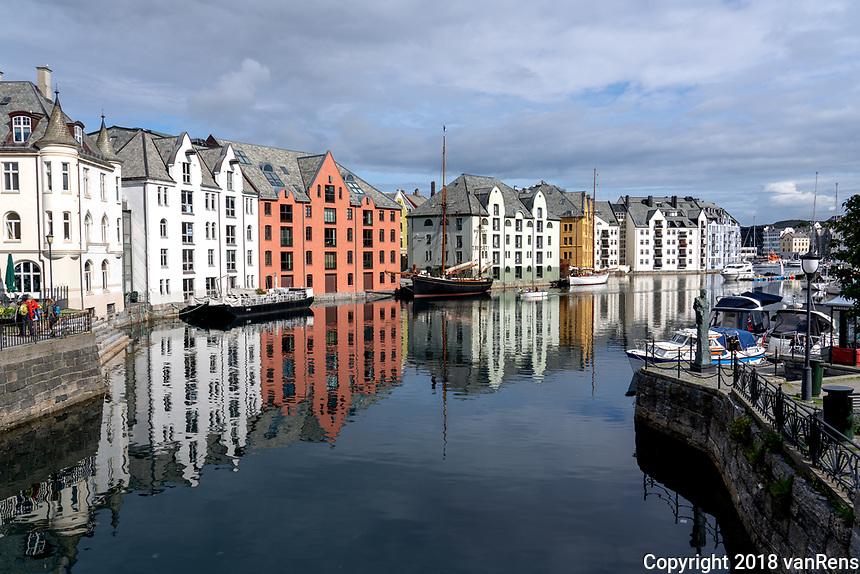 Alesund, Norway-art nouveau architecture