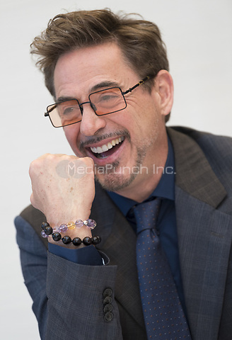 """Robert Downey Jr, who stars in 'Avengers: Endgame"""", at the InterContinental Hotel in Los Angeles. Credit: Magnus Sundholm/Action Press/MediaPunch ***FOR USA ONLY***"""
