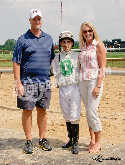 Jose Vega and fans at Delaware Park on 7/26/14