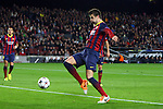 UEFA Champions League 2013/2014.<br /> FC Barcelona vs Celtic FC: 6-1 - Game: 6.<br /> 1-0: Gerard Pique.