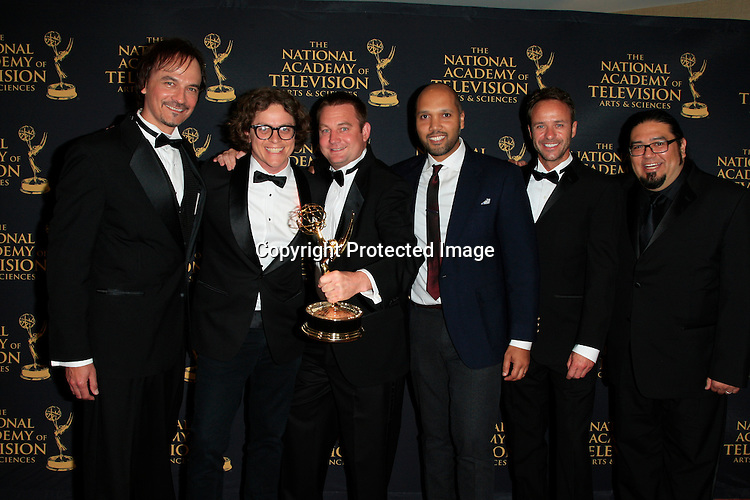 LOS ANGELES - APR 24: Winner Outstanding Special Class Animated Program, Outstanding Directing in an Animated Program at The 42nd Daytime Creative Arts Emmy Awards Gala at the Universal Hilton Hotel on April 24, 2015 in Los Angeles, California