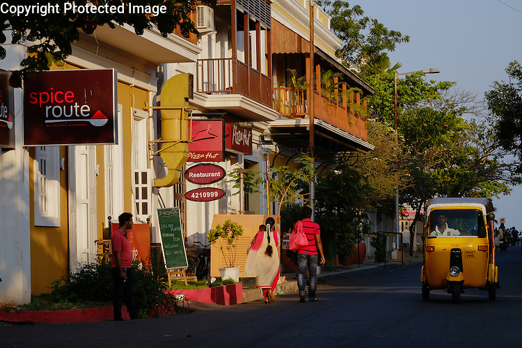 Pondicherry, also known as Puducherry, exhibits plenty of evidence of its French colonial past.