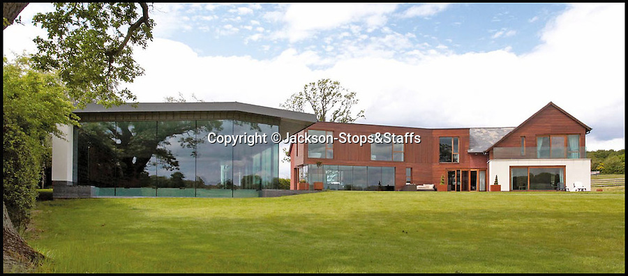 BNPS.co.uk (01202 558833)<br /> Pic: Jackson-Stops&amp;Staff/BNPS<br /> <br /> For sale - Super home with its own leisure centre attached.<br /> <br /> The buyers of this stunning country property will never need to leave home again - with their own leisure complex at their fingertips.<br /> <br /> Birchwood House in Hoar Cross, Staffs, is a bespoke five-bedroom house that makes the most of the incredible countryside surrounding it with floor to ceiling windows in most rooms.<br /> <br /> But the really unusual selling feature is its unsurpassed leisure suite with a purpose-built gym, 15-metre swimming pool, sauna and steam room. <br /> <br /> It might save you a fortune in gym fees, but any wannabe owners will need &pound;2.75million to get their hands on this cutting edge, contemporary pad.<br /> <br /> The house also has a media room which currently has a pool table and a home cinema, meaning you really could settle in for the long haul.