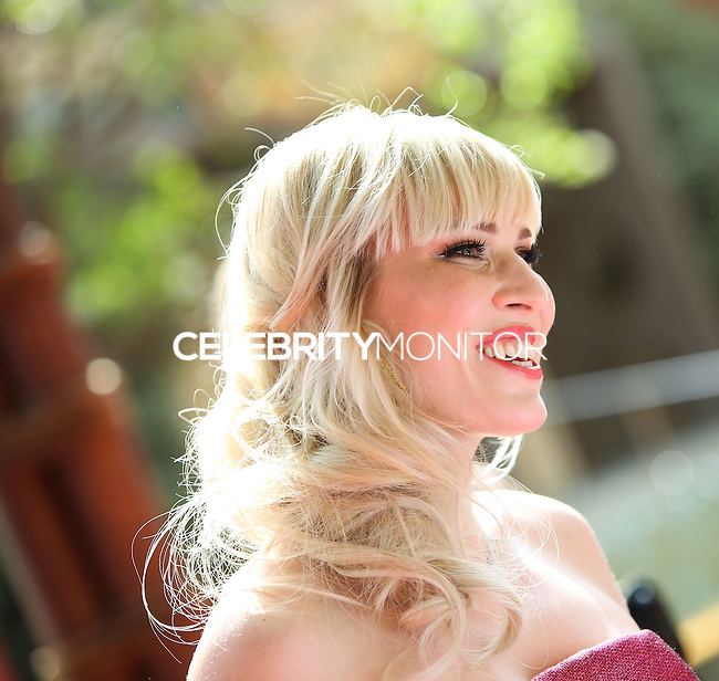 "BURBANK, CA, USA - MARCH 22: Singer Natasha Bedingfield arrives at the Los Angeles Premiere of DisneyToon Studios' ""The Pirate Fairy"" held at Walt Disney Studios on March 22, 2014 in Burbank, California, United States. (Photo by Xavier Collin/Celebrity Monitor)"