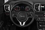 Car pictures of steering wheel view of a 2018 KIA Sportage EX 5 Door SUV Steering Wheel
