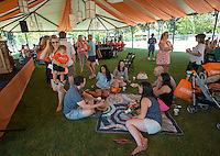 All Class Lunch on Bell Field.<br />