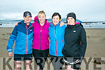 At the Maharees Brandon Bay Half Marathon on Saturday were l-r  Joe Bartley, Rosaleen Hannon, Margaret Hannon and Eileen Hannon.