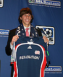 12 January 2007: Wells Thompson was selected by the New England Revolution with the #5 overall draft pick. The 2007 MLS SuperDraft was held in the Indianapolis Convention Center in Indianapolis, Indiana during the National Soccer Coaches Association of America's annual convention.