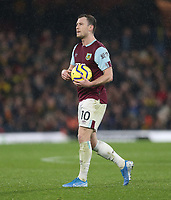Burnley's Ashley Barnes prepares to take his penalty<br /> <br /> Photographer Rob Newell/CameraSport<br /> <br /> The Premier League - Watford v Burnley - Saturday 23rd November 2019 - Vicarage Road - Watford <br /> <br /> World Copyright © 2019 CameraSport. All rights reserved. 43 Linden Ave. Countesthorpe. Leicester. England. LE8 5PG - Tel: +44 (0) 116 277 4147 - admin@camerasport.com - www.camerasport.com