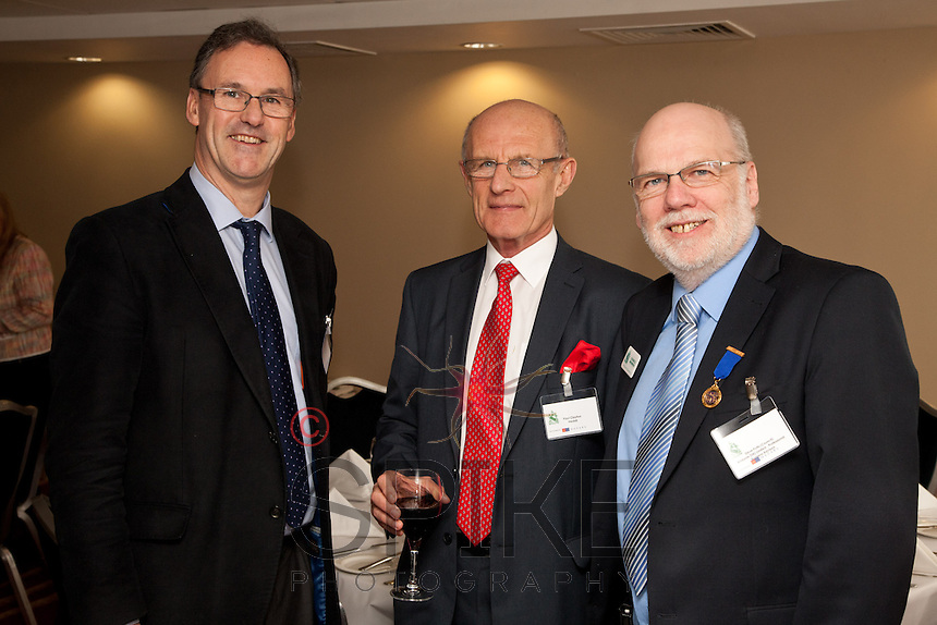 From left are David Woodhead of Robert Woodhead, Paul Clayton of Healdi and Steve Potts of Andante