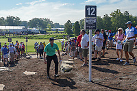 Webb Simpson (USA) heads to 12 during 1st round of the 100th PGA Championship at Bellerive Country Cllub, St. Louis, Missouri. 8/9/2018.<br /> Picture: Golffile | Ken Murray<br /> <br /> All photo usage must carry mandatory copyright credit (© Golffile | Ken Murray)