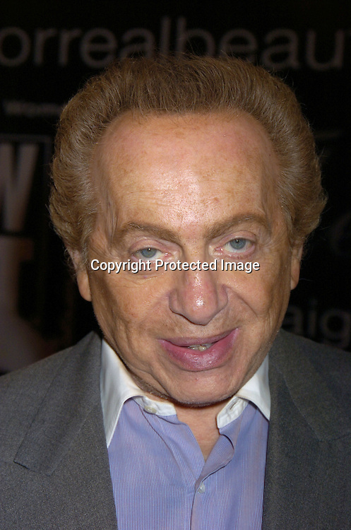 Jackie Mason ..at The American Women in Radio and Television's 30th Annual Gracie Allen Awards on June 22, 2005 at the Marriott Marquis. ..Photo by Robin Platzer, Twin Images
