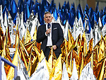 BT's Gary Lineker during the Champions League Quarter-Final 2nd leg match at the King Power Stadium, Leicester. Picture date: April 18th, 2017. Pic credit should read: David Klein/Sportimage