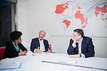 Jean-Philippe Gouyet (à gauche), Directeur général délégué du groupe necotrans et Grégory Quérel, président général