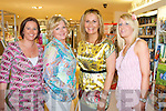 FUN NIGHT: Having great fun time at the Friday Night Live with Amanda Brunker at CH Chemists, Tralee on Friday l-r: Sara Gibson, Moira Cronin, Geraldine Parker and Helena Brennan.