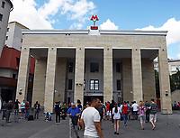 Metro-Station Sportivnaya am Luschniki-Stadion - 20.06.2018: Portugal vs. Marokko, Gruppe B, 2. Spieltag, Luschniki Stadion Moskau