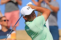 Gary Woodland (USA) tees off the 7th tee during Saturday's Round 3 of the Waste Management Phoenix Open 2018 held on the TPC Scottsdale Stadium Course, Scottsdale, Arizona, USA. 3rd February 2018.<br /> Picture: Eoin Clarke | Golffile<br /> <br /> <br /> All photos usage must carry mandatory copyright credit (&copy; Golffile | Eoin Clarke)