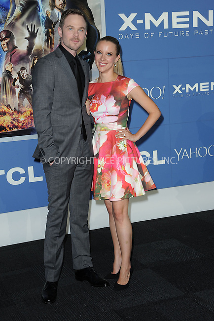 WWW.ACEPIXS.COM<br /> May 10, 2014 New York City<br /> <br /> Shawn Asmore and Dana Wasdin attending the 'X-Men: Days Of Future Past' world premiere at Jacob Javits Center onMay 10, 2014 in New York City.<br /> <br /> Please byline: Kristin Callahan<br /> <br /> ACEPIXS.COM<br /> <br /> Tel: (212) 243 8787 or (646) 769 0430<br /> e-mail: info@acepixs.com<br /> web: http://www.acepixs.com
