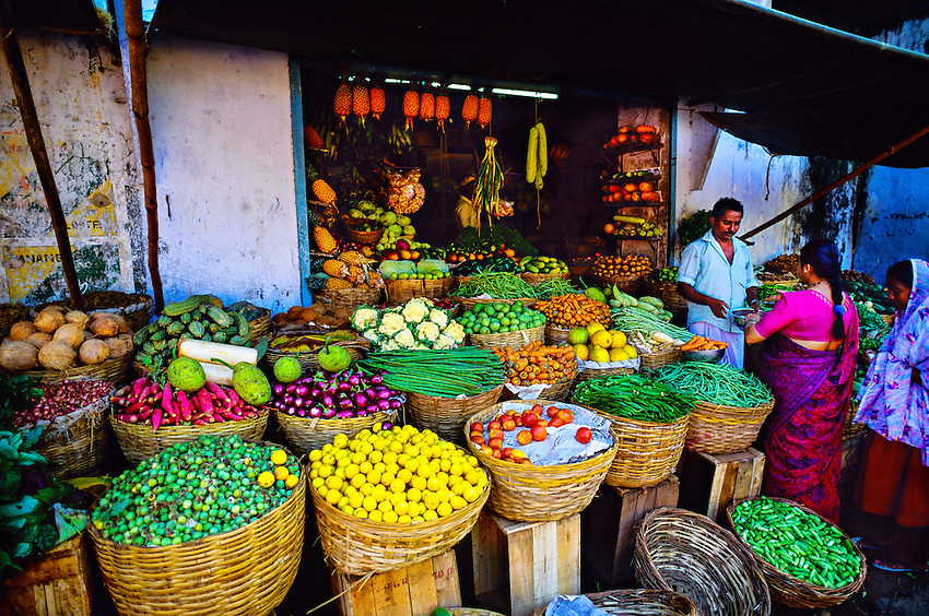 Mattancherry section of Kochi (Cochin), Kerala, India
