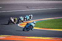 VALENCIA, SPAIN - NOVEMBER 8: Hiroki Ono during Valencia MotoGP 2015 at Ricardo Tormo Circuit on November 8, 2015 in Valencia, Spain
