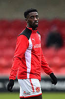 Fleetwood Town's Jordy Hiwula looks on<br /> <br /> Photographer Richard Martin-Roberts/CameraSport<br /> <br /> The EFL Sky Bet League One - Fleetwood Town v Plymouth Argyle - Saturday 10th March 2018 - Highbury Stadium - Fleetwood<br /> <br /> World Copyright &not;&copy; 2018 CameraSport. All rights reserved. 43 Linden Ave. Countesthorpe. Leicester. England. LE8 5PG - Tel: +44 (0) 116 277 4147 - admin@camerasport.com - www.camerasport.com
