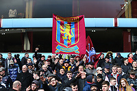 Aston Villa fans <br /> Photographer Leila Coker/CameraSport<br /> <br /> The EFL Sky Bet Championship - Aston Villa v Birmingham City - Sunday 11th February 2018 - Villa Park - Birmingham<br /> <br /> World Copyright &copy; 2018 CameraSport. All rights reserved. 43 Linden Ave. Countesthorpe. Leicester. England. LE8 5PG - Tel: +44 (0) 116 277 4147 - admin@camerasport.com - www.camerasport.com