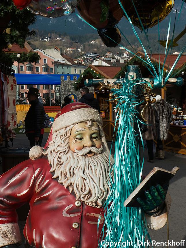 auf dem Weihnachtsmarkt, Innsbruck, Tirol, Österreich