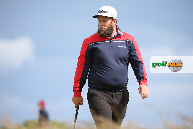 Andrew Johnston (ENG) during Round One of the 2016 Aberdeen Asset Management Scottish Open, played at Castle Stuart Golf Club, Inverness, Scotland. 07/07/2016. Picture: David Lloyd | Golffile.<br /> <br /> All photos usage must carry mandatory copyright credit (&copy; Golffile | David Lloyd)