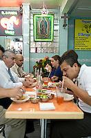 El Borrego Viudo taqueria on Revolución in Mexico City.
